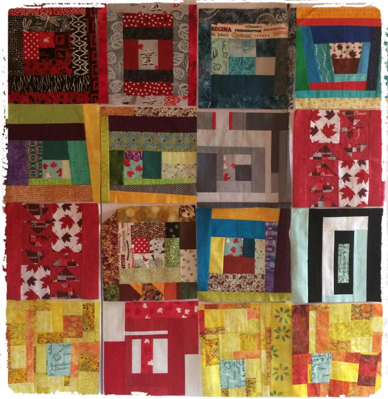 Slab Blocks for the Great Canadian Quilting Bee at Quilt Canada ... : canadian quilt - Adamdwight.com
